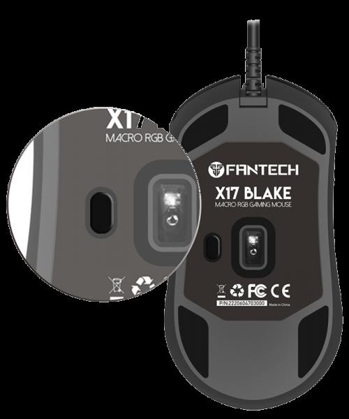 Mouse Gaming Black X17 - Fantech - 7
