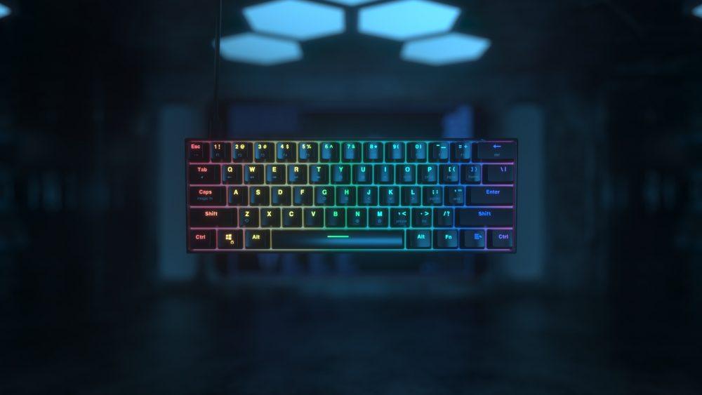 maxfit61 rgb mmechanical keyboard